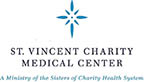 St. Vincent Charity Medical Center logo.